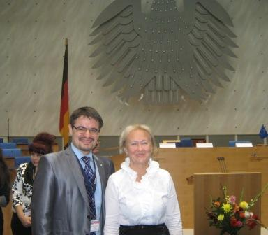 With Prof. Dr. Olga Golubnitschaja, EPMA Secretary-General